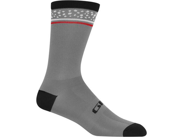 Giro Comp High Rise Skarpetki, portaro grey